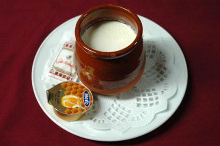Cuajada de Naranja con Chocolate