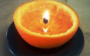 Vela Naranja