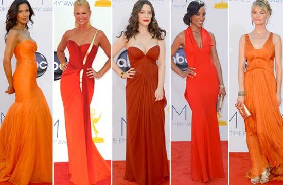 El naranja triunfa en los Emmy's 2012