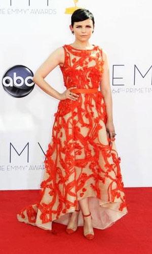 El naranja predomina en los Emmy's 2012