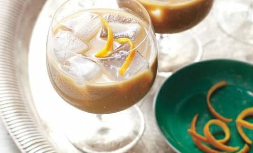 Granizado de café con naranja