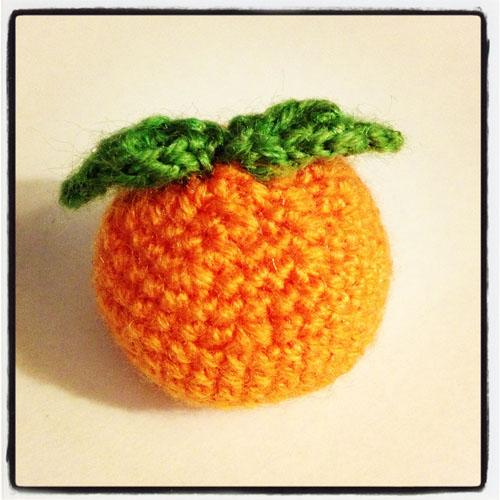 Naranja Amigurumi