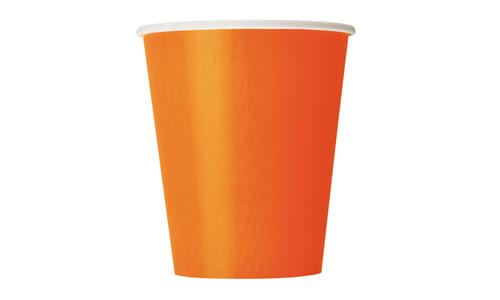 vaso naranja