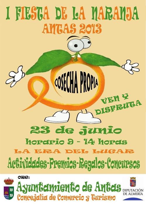 I Feria de la Naranja, Antas 2013