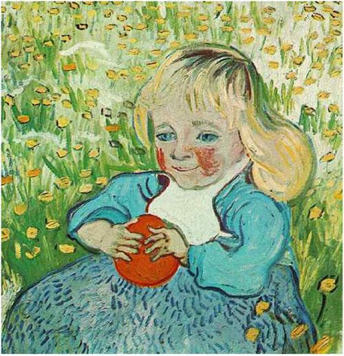 El Niño de la Naranja de Vincent Van Gogh