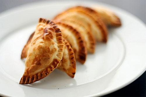 Empanadillas rellenas de naranjas