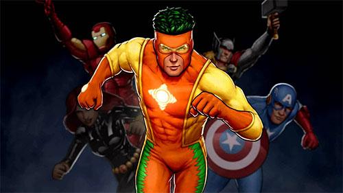 El Superhéroe Naranja: El Capitán Citrus