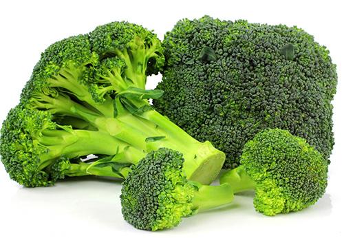 Brócoli en salsa de naranja